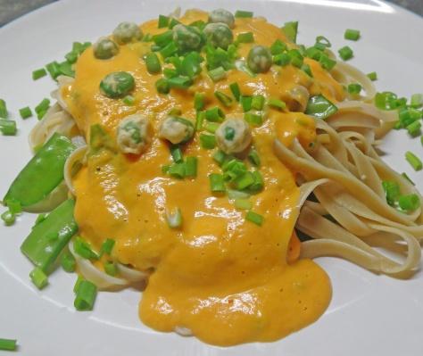 Pumpkin coco pasta