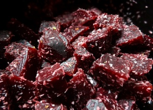 obeetroot with butter and coconut