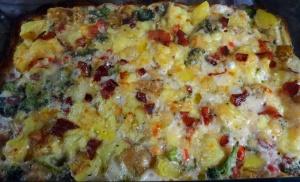 Sweet potaoto casserole baked