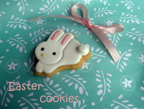 Sweet easter cookies