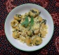 pumpkin-spinach gnocchi with sage butter