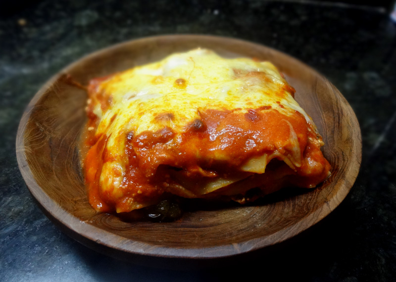 how to make vegetarian lasagna without egg