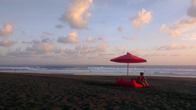 Echo beach, Bali.