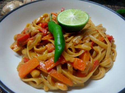 One pot linguine phat thai style recipe