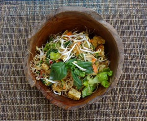 Asian vermicelli salad